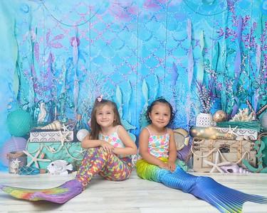 Marina & Callie Mermaid 2020