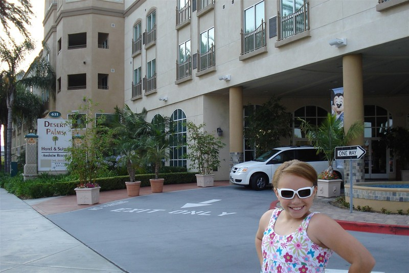Bree in front of our hotel.jpg