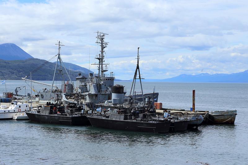 Ushuaia, Argentine Navy