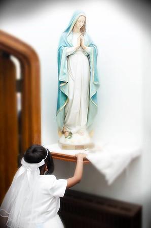 Ariele Lydia's 1st Communion