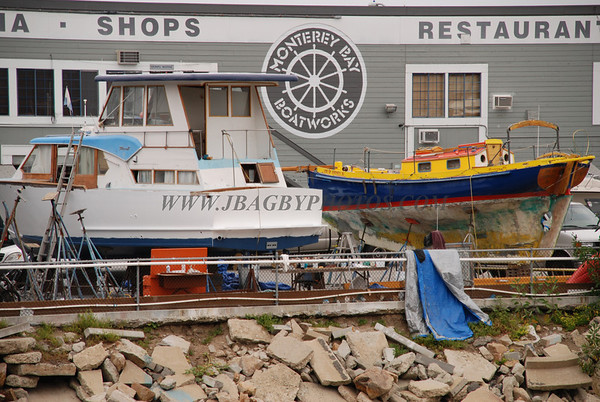 Monterey Bay & Wharf