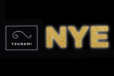 Tsunami NYE 12/31/19
