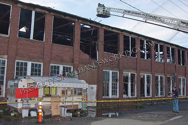 Seymour Three Alarm Factory Fire