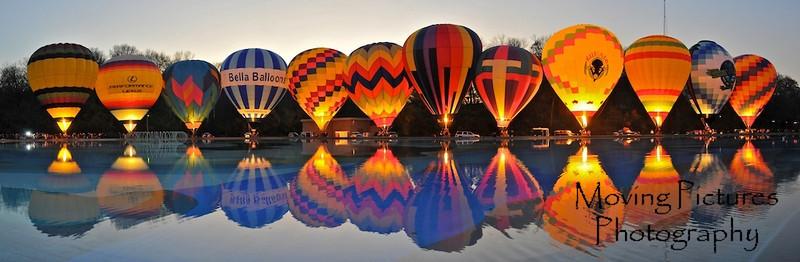 Balloons in Eden Park - November 21, 2009