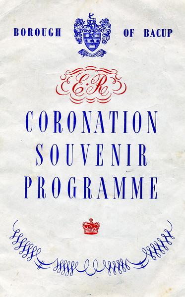 Bacup - Coronation Souvenir Programme