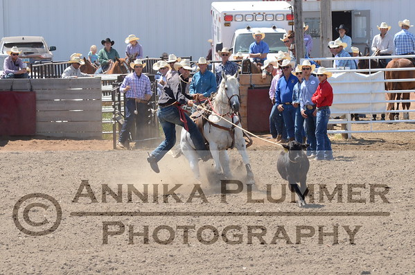 Tie Down Roping-WC Slack-07-08-2017