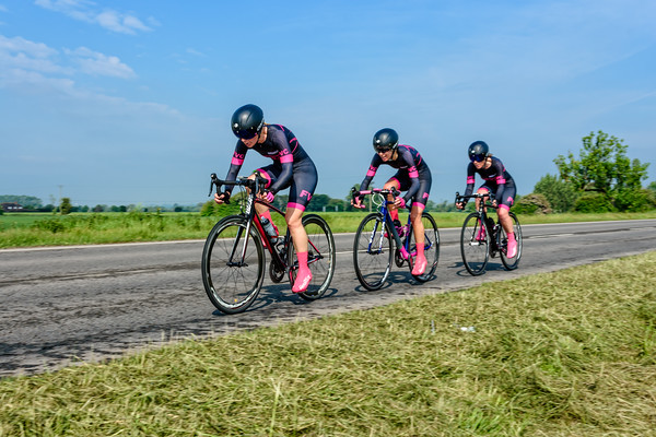 KCA 3up team Time trial Brenzett 27/05/2018