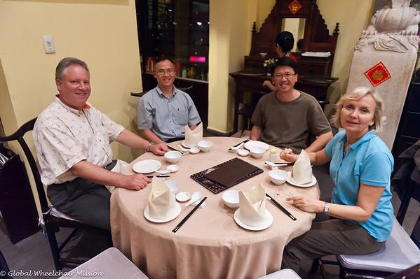 Thursday: Return Flight and Ho Chi Minh City Distributions