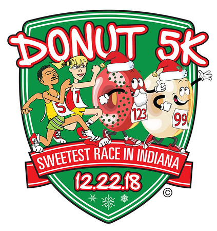 2018 Donut 5K Holiday Run Walk