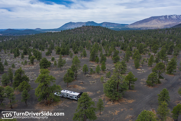 Cinders OHV from a Drone