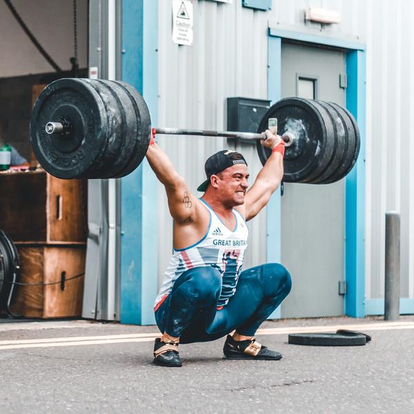 Sonny Webster Weightlifting Seminar 20/08/2017 v2