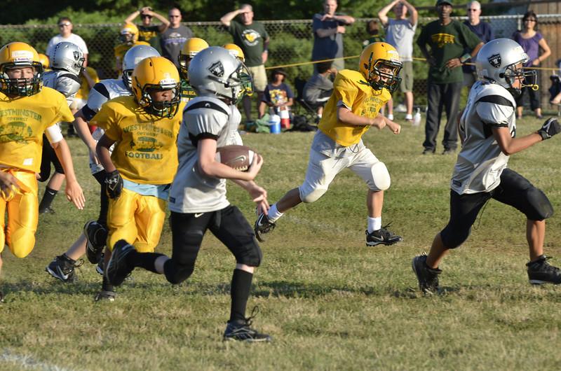 Wildcats vs Raiders Scrimmage 113.JPG