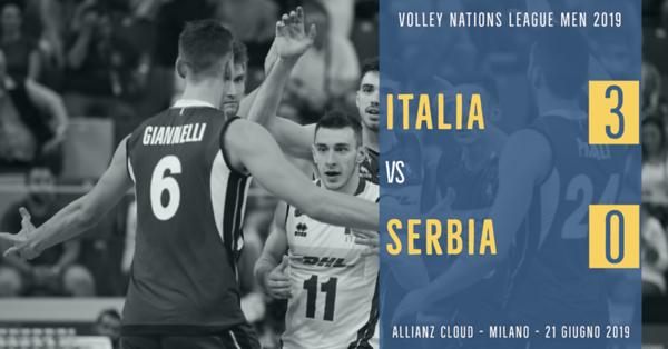 Italia 3 - Serbia 0