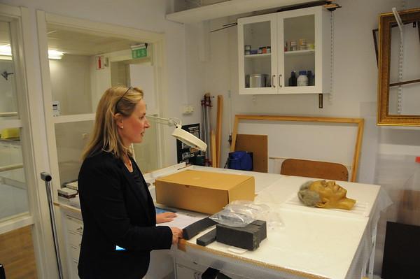 Bellmans dödsmask i vax från Panoptikon - återresan