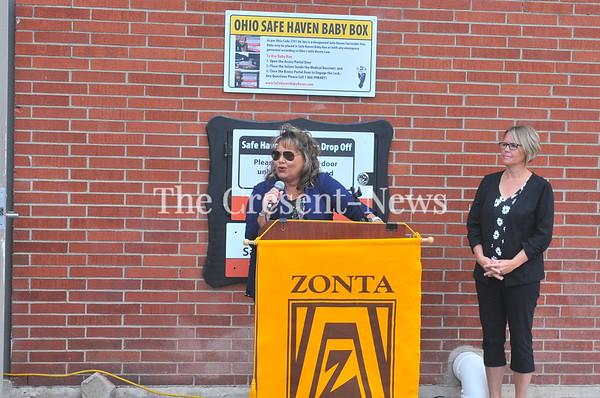 09-25-19 NEWS Dedication of Baby box @ Fire station