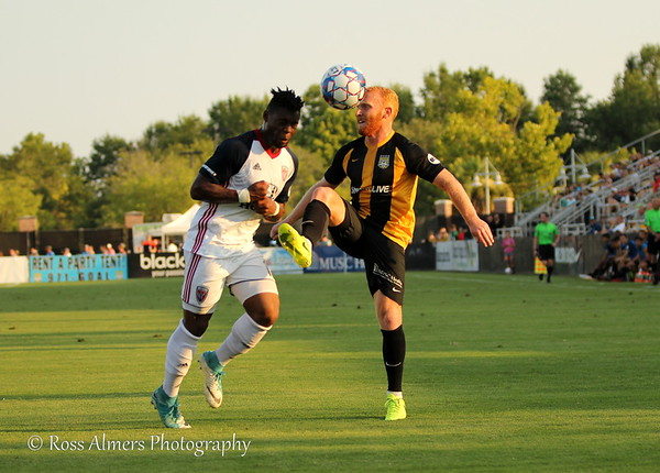 Charleston Battery vs Indy Eleven July11 2018