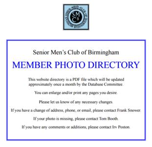 SMCB Member Photos