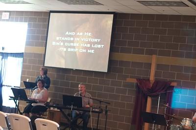 Baptism Service July 2010