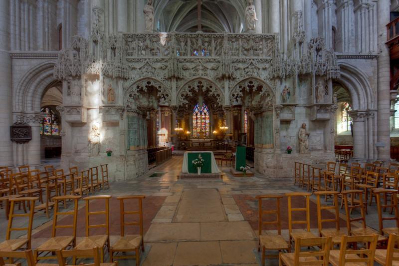 Troyes Sainte-Madeleine Church Choir Screen