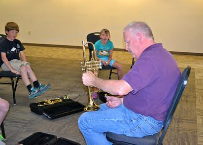 6-11-12 through 6-14-12 Music Exploration Camp