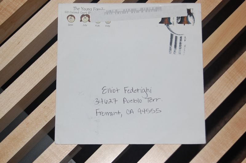 Elliot's First Mail