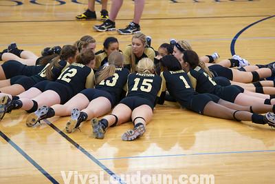 Girls Volleyball: Varsity Freedom at Stone Bridge (by Jeff Scudder)