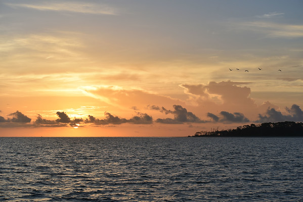 Sunrise over St. Simons Sound 09-28-18