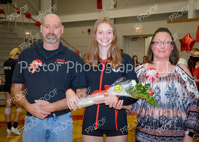 PHS Volleyball Senior Night