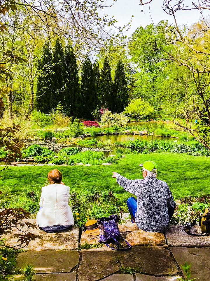 Chanticleer花园,享受生活