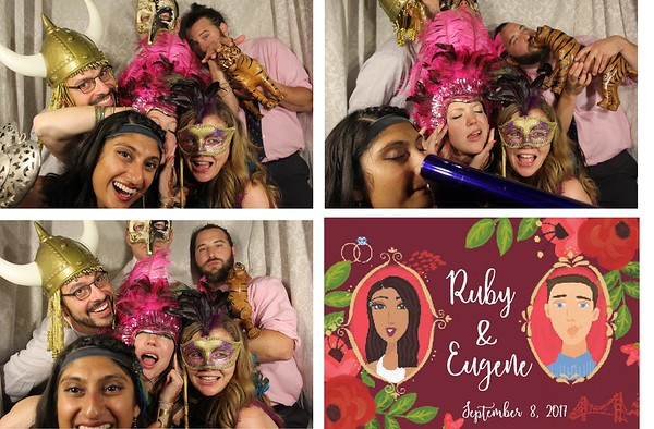 Ruby & Eugene Wedding - 9.8.17  Photo Strips