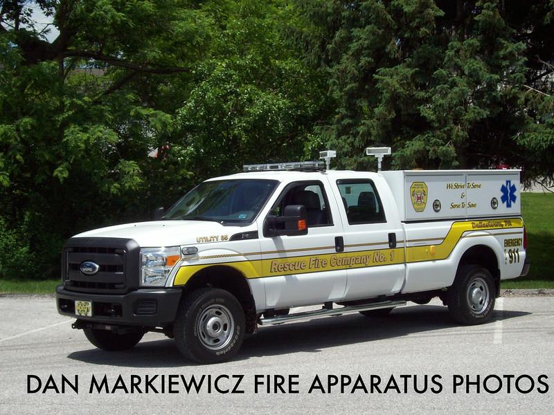 RESCUE FIRE CO. DALLASTOWN UTILITY 35 2011 FORD P/U UTILITY