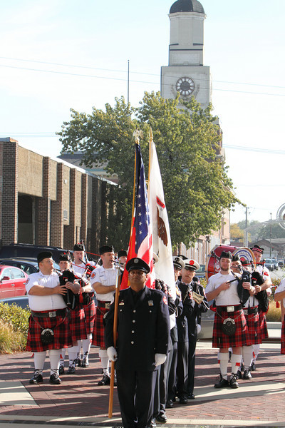Stockyard Fire Anniversary Dedication October 8, 2010