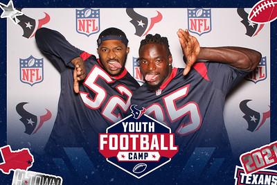 June 27, 2021 - Texans Youth Football Camp