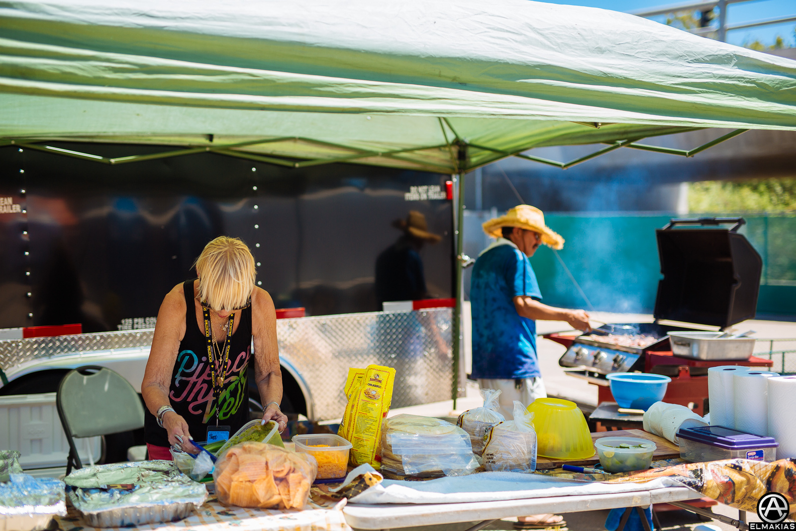Catering at Warped Tour 2015 by Adam Elmakias