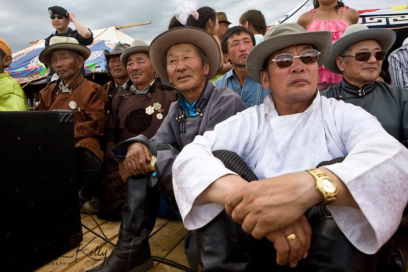 Annual Naadam Festival. Tsenkar, Mongolia