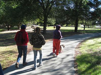 Anderson Park Hike with Kuma