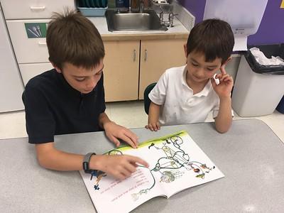 PreKD Meets 4th Grade Buddies