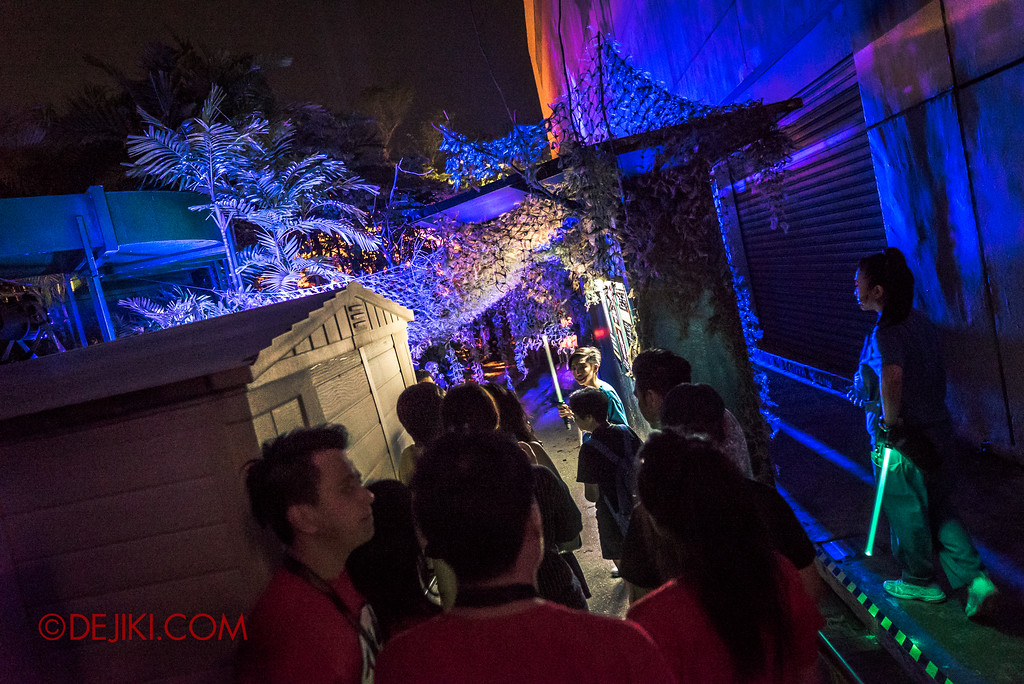 Halloween Horror Nights 7 Singapore - RIP Tour Review / HEX VIP access