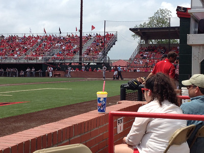 UL Baseball Game 2014