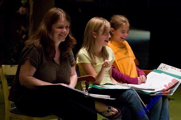 NWCT 2008 Hansel & Gretel - Rehearsal