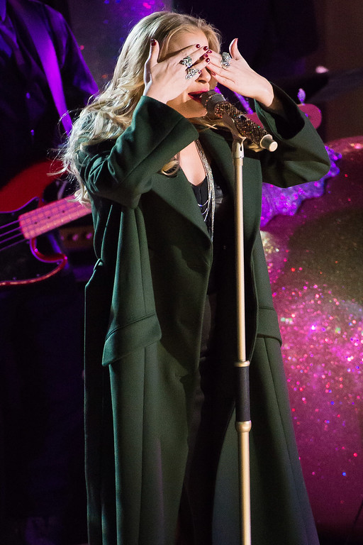 . LeeAnn Rimes performs at the 82nd Annual Rockefeller Center Christmas Tree Lighting Ceremony on Wednesday, Dec. 3, 2014, in New York. (Photo by Charles Sykes/Invision/AP)