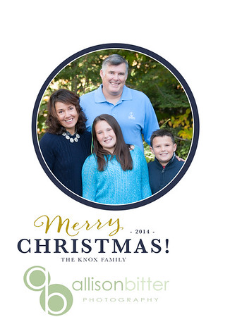 KNOX Holiday Card 2014
