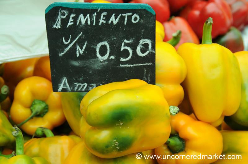 Pemiento Amarillo - Mistura Gastronomy Festival in Lima, Peru