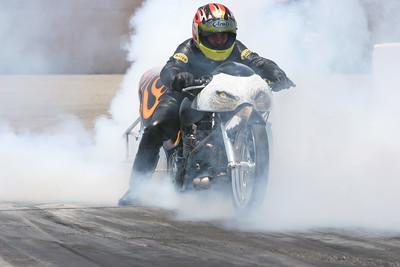 TOP ALCOHOL MOTORCYCLE - AAA DRAGWAY, FONTANA