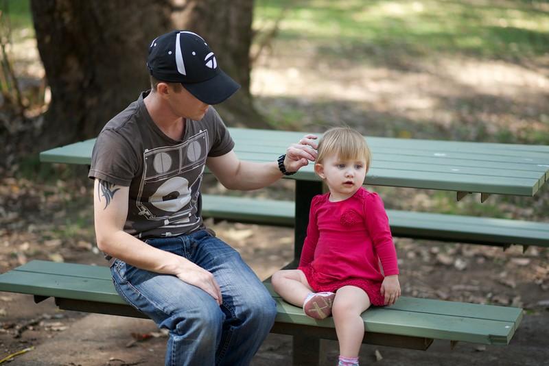Dad & Heidi