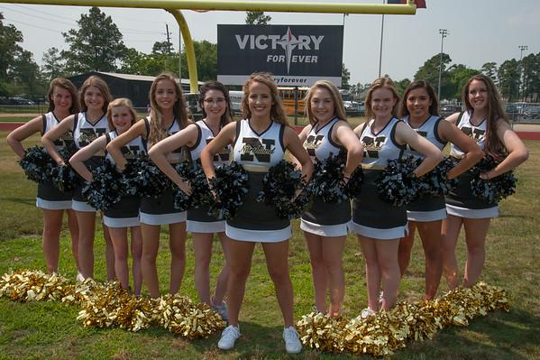 Varsity Cheer  Team Photos