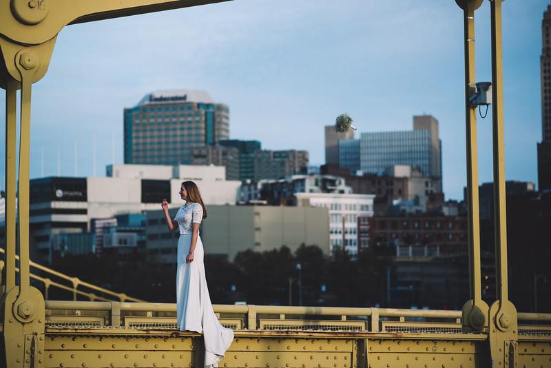 Pittsburgh Elopement Photographer - Monaco Bridge Downtown - Hadley-302.jpg