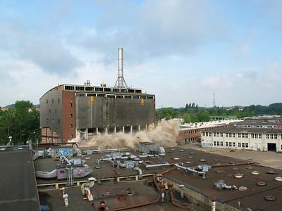 2004 Sprengung Kesselhaus