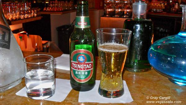 Tsing Tao beer