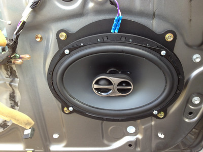 2005 Toyota Camry Front Speaker and Head Unit Installation - USA